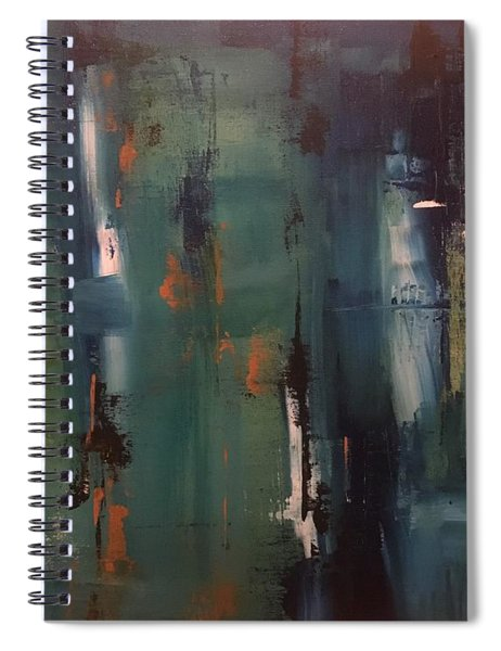 Abstract IIi Spiral Notebook