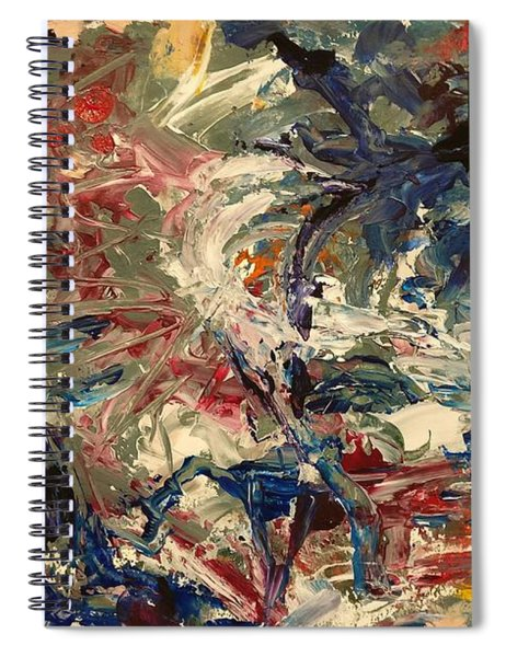 Abstract Puzzle Spiral Notebook