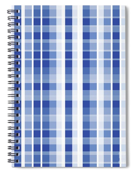 Abstract Squares And Lines Background - Dde609 Spiral Notebook
