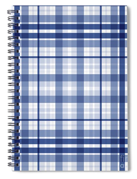 Abstract Squares And Lines Background - Dde611 Spiral Notebook