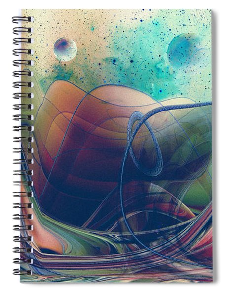 Turbulence Spiral Notebook