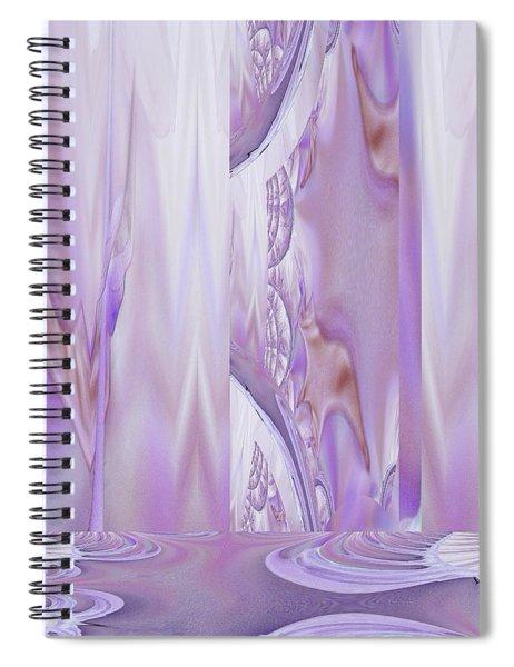 Liquid Lavender Spiral Notebook