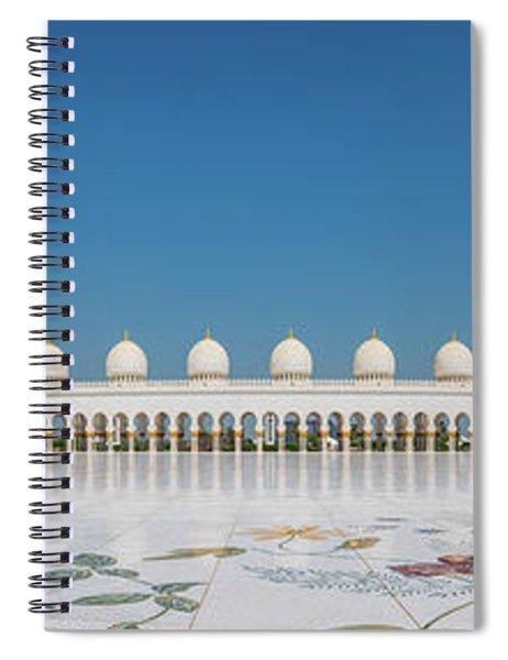 Abu Dhabi - Pano Spiral Notebook