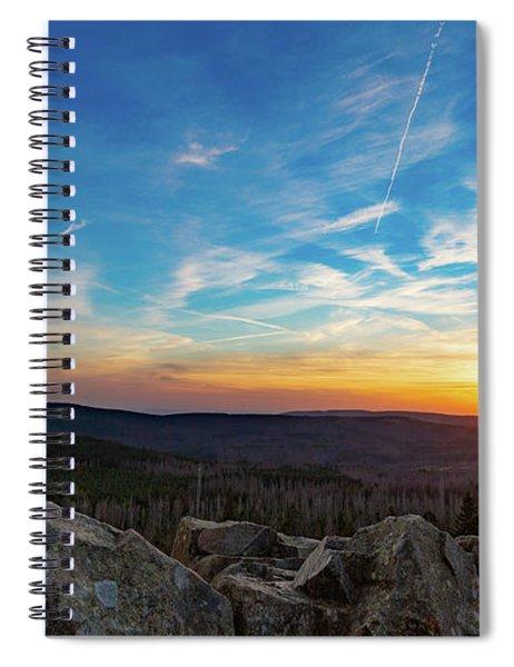 Achtermann Sunset, Harz Spiral Notebook