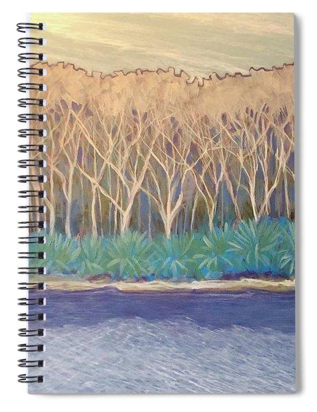 Across The Creek Spiral Notebook