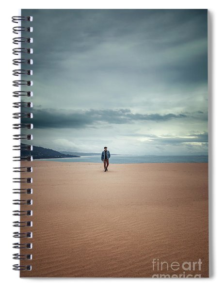 Across The Sands Of Time Spiral Notebook