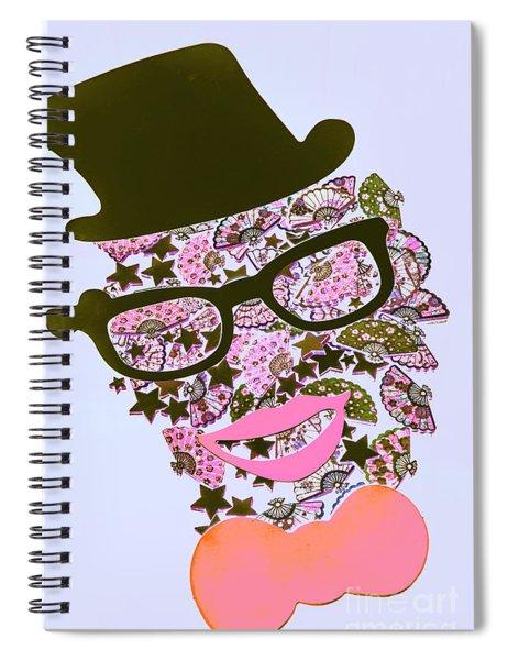 Actin Expressionism Spiral Notebook