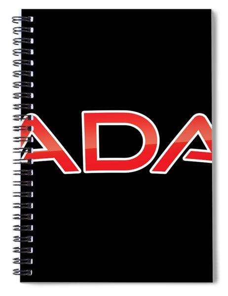 Ada Spiral Notebook