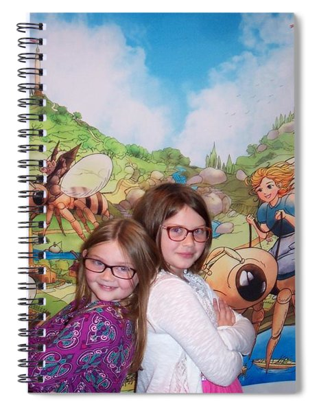 Addy, Rylie, And Tammy Spiral Notebook