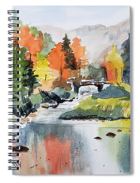 Adirondacks Of New York Spiral Notebook