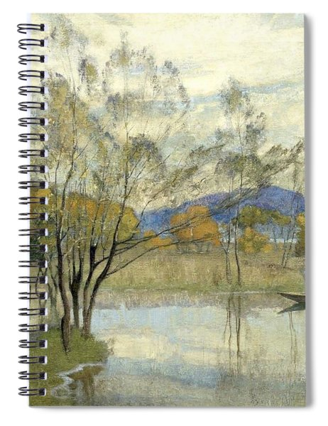 Adrian Stokes 1854-1935, Lake Locarno Spiral Notebook
