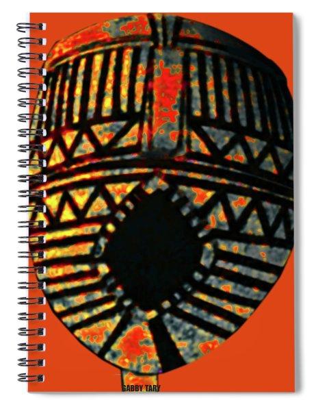 African Art Mask1 Spiral Notebook