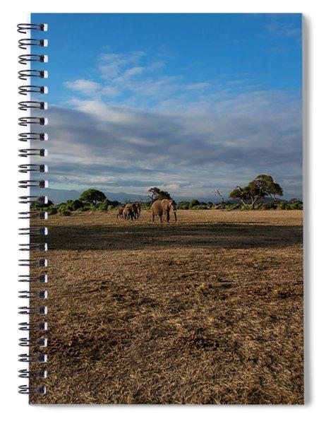 Amboseli Spiral Notebook