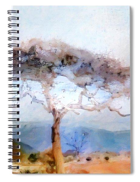 African Journey Spiral Notebook