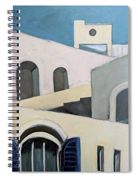 After De Chirico Spiral Notebook