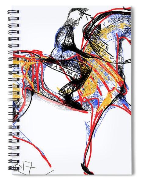 After The Derby Spiral Notebook