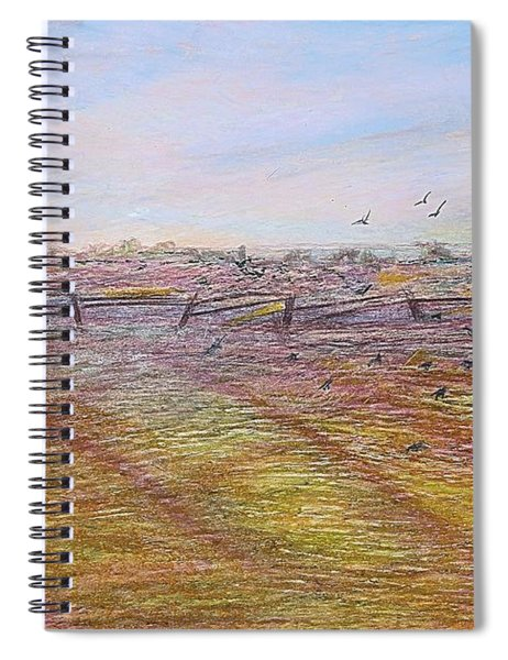 After The Harvest Spiral Notebook