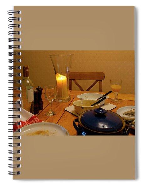 Aftermath Spiral Notebook