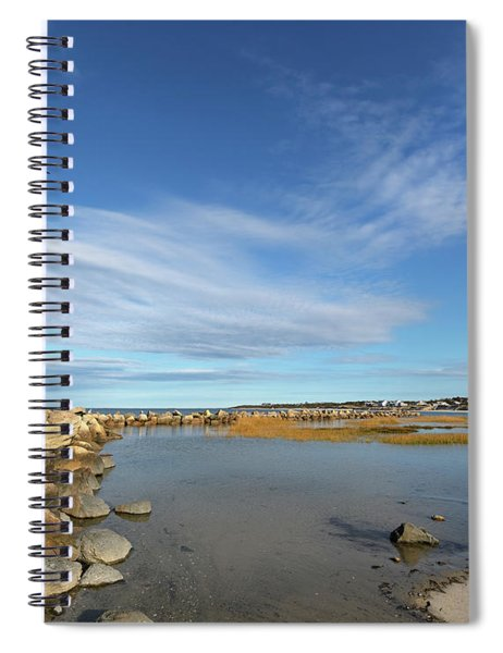 Afternoon At Corporation Beach Spiral Notebook