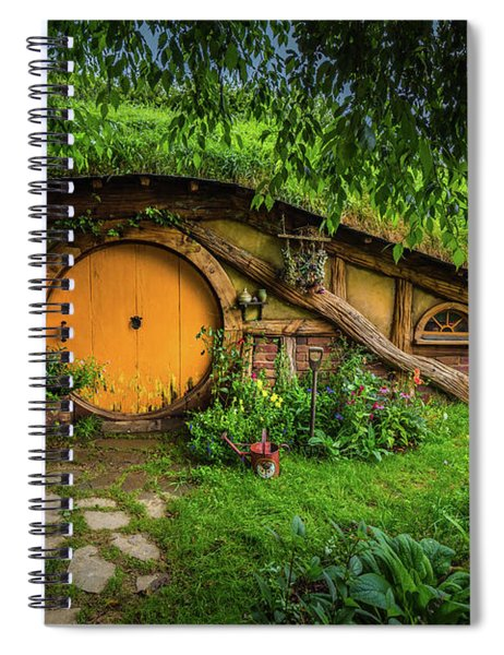 Hobbiton Afternoon Spiral Notebook