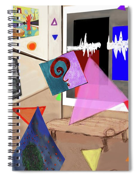 Afternoon At The Museum Spiral Notebook