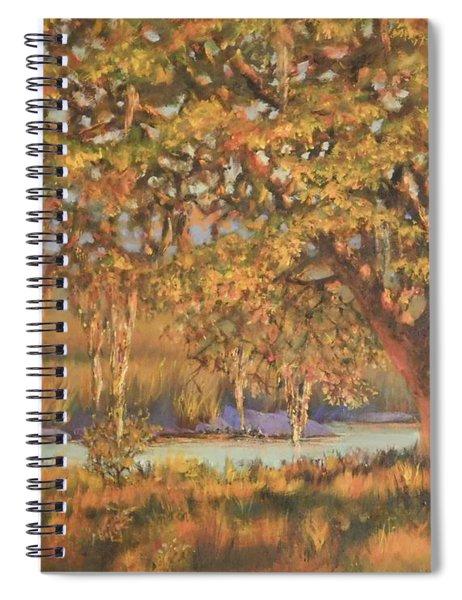 Afternoon Glow Spiral Notebook