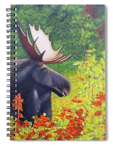 Afternoon Munch Spiral Notebook