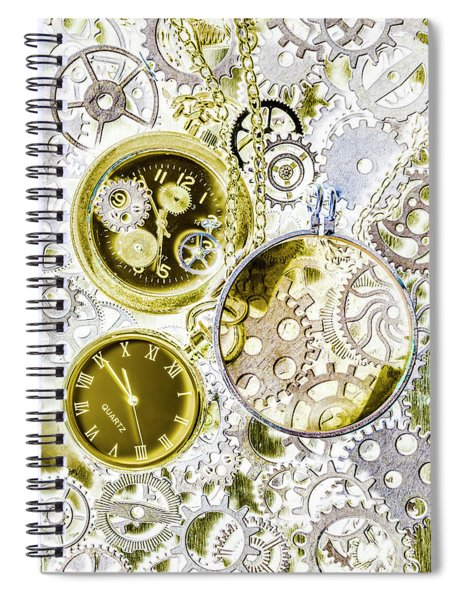 Age Of Circular Machines Spiral Notebook