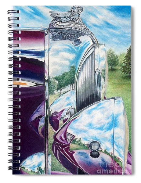 Aged Elegance Spiral Notebook