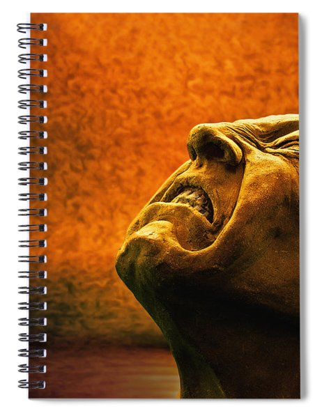 Agony 1 - Image  Spiral Notebook