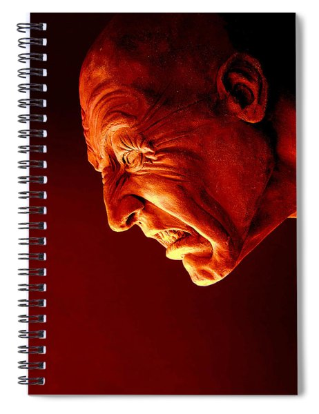 Agony 3 - Image  Spiral Notebook