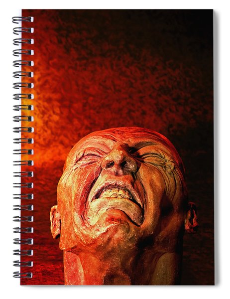 Agony 5 - Image  Spiral Notebook