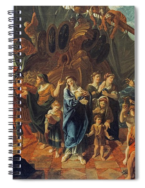 Agrippina Landing At Brundisium With The Ashes Of Germanicus, 1781 Spiral Notebook