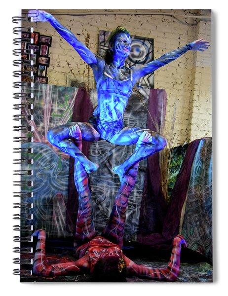 Aien Crane Spiral Notebook