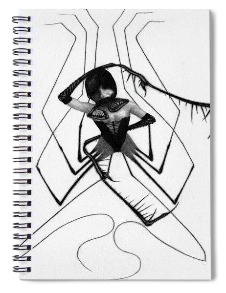 Aiko The Mistress Noir - Artwork Spiral Notebook
