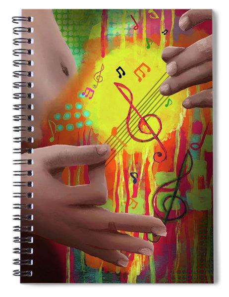 Air Guitar Spiral Notebook
