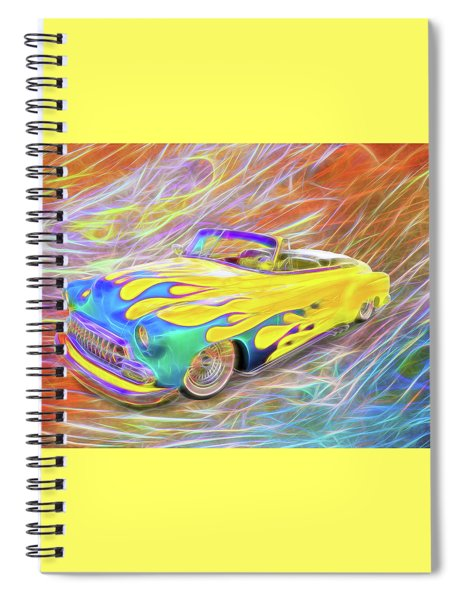 Airflame Spiral Notebook