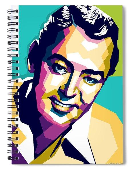Alan Ladd Spiral Notebook