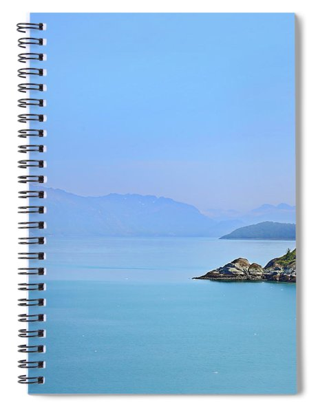 Alaska Fjords Spiral Notebook