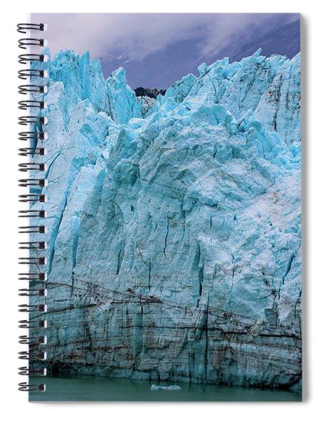 Alaskan Blue Glacier Ice Spiral Notebook