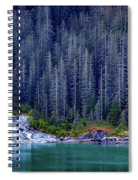 Alaskan Coastline Beauty Spiral Notebook