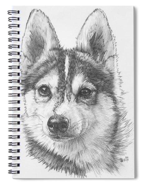 Alaskan Klee Kai Spiral Notebook