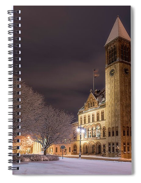 Albany City Hall Spiral Notebook
