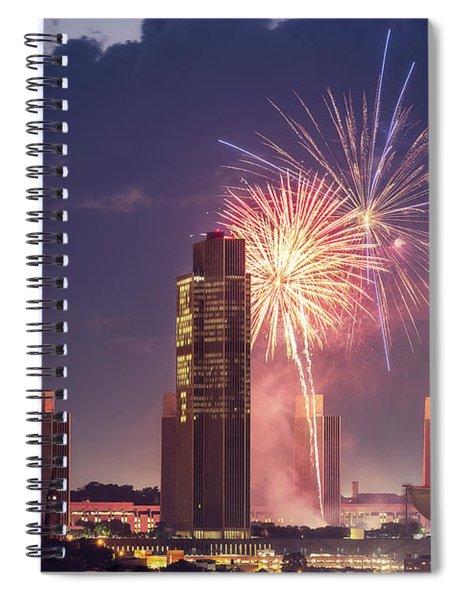 Albany Fireworks 2019 Spiral Notebook