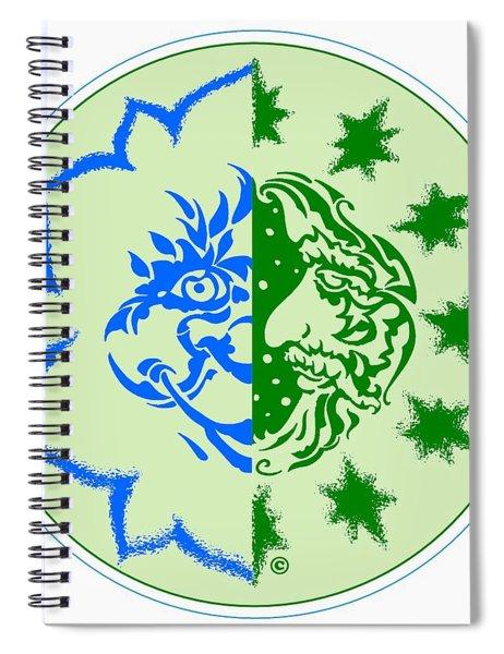 Alexipharmic Logo Spiral Notebook