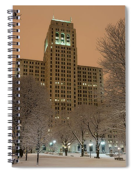 Alfred E. Smith Building Spiral Notebook