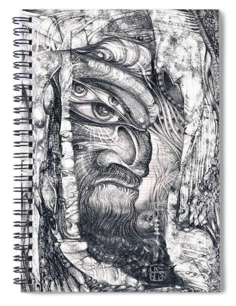 Ali Baba Spiral Notebook