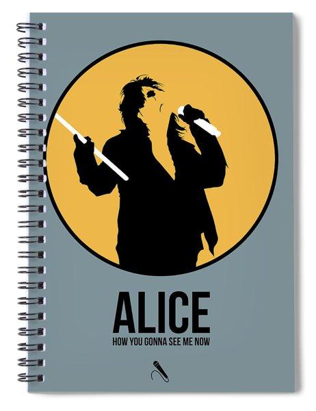 Alice Cooper II Spiral Notebook