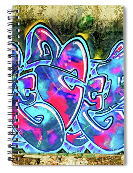 Alien Funk Spiral Notebook