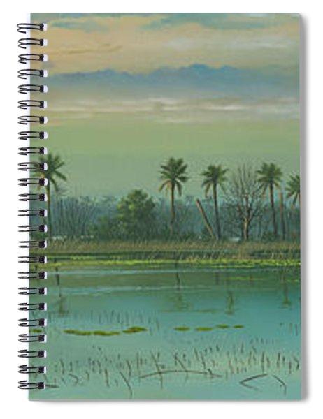 Alligator Alley Spiral Notebook